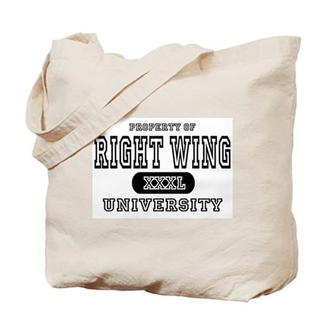 Right Wing University Tote Bag