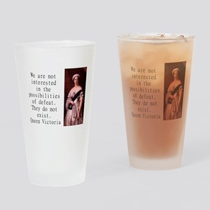 We Are Not Interested - Queen Victoria Drinking Gl
