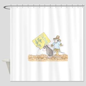 Planting Catnip Shower Curtain