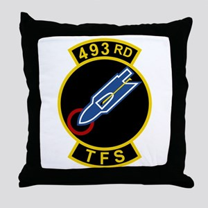 493rd TFS Throw Pillow