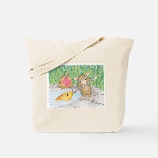 Somethin Fishy Tote Bag