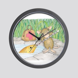 Somethin Fishy Wall Clock
