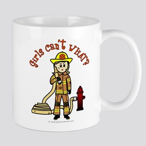 firefighter-blonde Mugs
