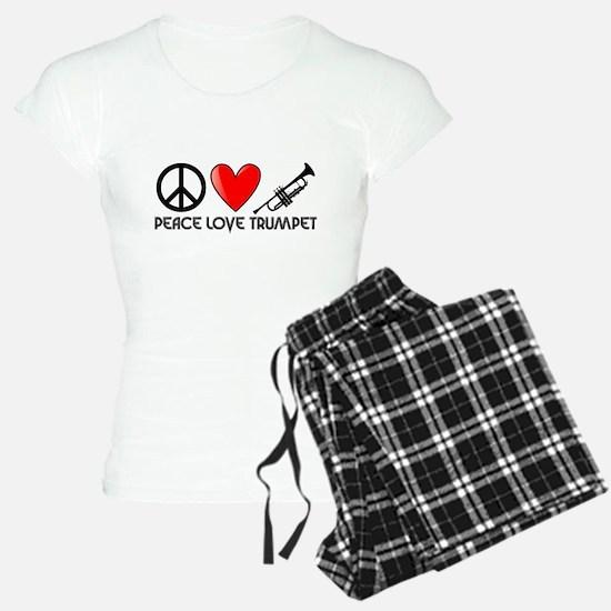 Peace, Love, Trumpet Pajamas