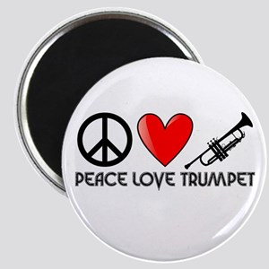 Peace, Love, Trumpet Magnet