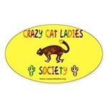 Oval Sticker - Desert CCLS Logo