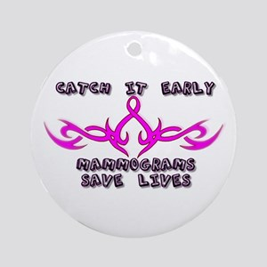 Catch it Early Ornament (Round)