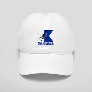 Dive Australia (blue) Baseball Cap