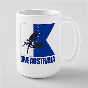 Dive Australia (blue) Mug