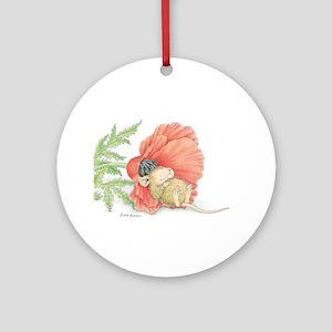 Poppy Cot Ornament (Round)