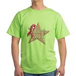 Breast Cancer Race D2 Green T-Shirt