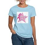 Breast Cancer Race D2 Women's Pink T-Shirt