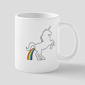 Unicorn Rainbow Poo Mug