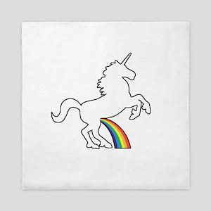 Unicorn Rainbow Wee Queen Duvet