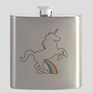Unicorn Rainbow Wee Flask
