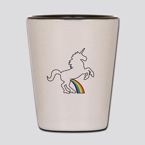 Unicorn Rainbow Wee Shot Glass