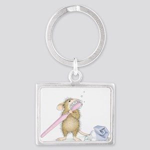 Tooth time Landscape Keychain