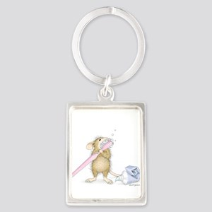 Tooth time Portrait Keychain