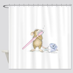 Tooth time Shower Curtain