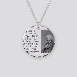 A Mans Character Necklace
