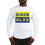 Screw Blue Long Sleeve T-Shirt