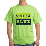 Screw Blue Green T-Shirt