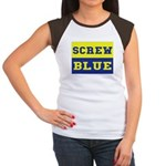 Screw Blue Women's Cap Sleeve T-Shirt