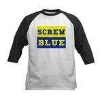 Screw Blue Kids Baseball Jersey