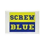 Screw Blue Rectangle Magnet (10 pack)