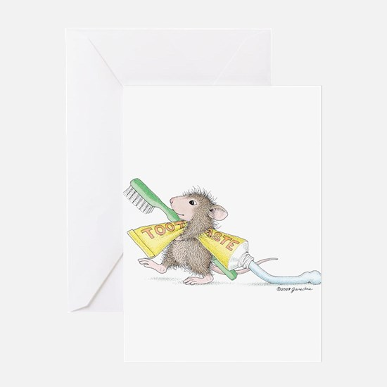 Time to brush Greeting Card