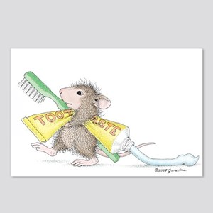 Time to brush Postcards (Package of 8)