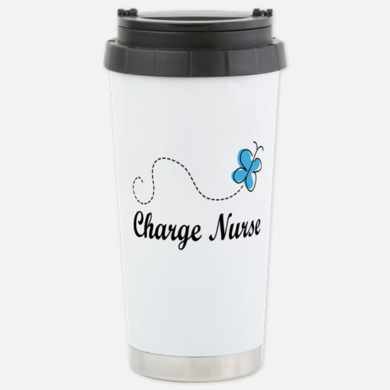 Cute Charge nurse Stainless Steel Travel Mug