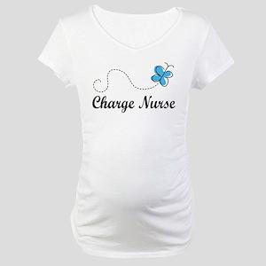 Cute Charge nurse Maternity T-Shirt