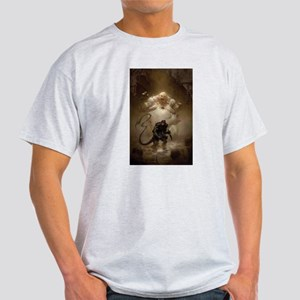 Warlash vs. Zombie Mutant by ben Olson T-Shirt