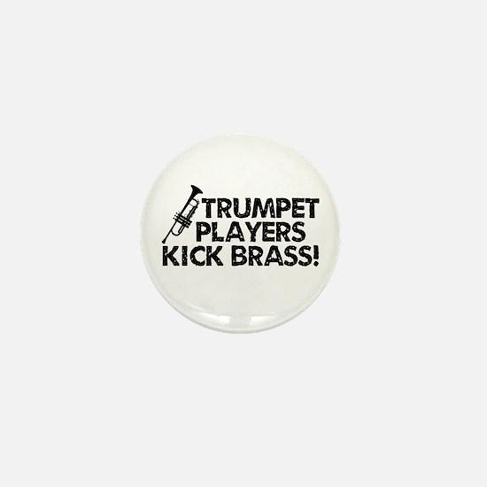 Kick Brass Mini Button