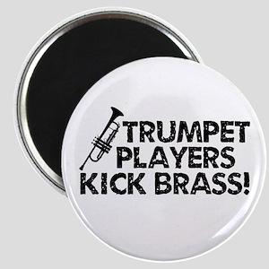 Kick Brass Magnet