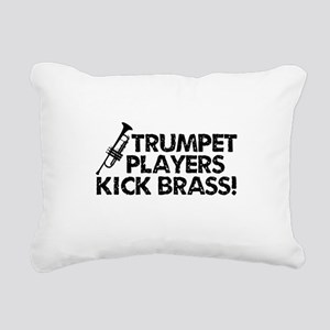 Kick Brass Rectangular Canvas Pillow