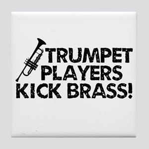 Kick Brass Tile Coaster