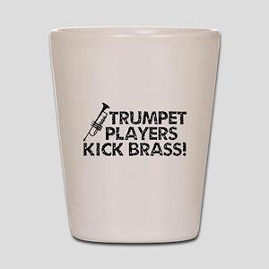 Kick Brass Shot Glass