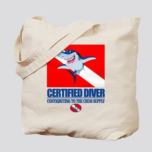 Certified Diver Tote Bag
