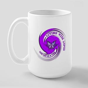 Lupus Awareness Large Mug