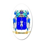 Ballaster 20x12 Oval Wall Decal