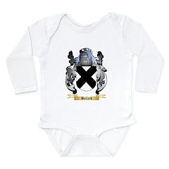 Ballard Long Sleeve Infant Bodysuit