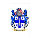 Ballantyne Sticker (Rectangle 50 pk)
