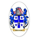 Ballantyne Sticker (Oval 10 pk)