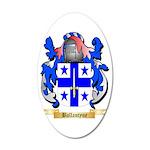 Ballantyne 35x21 Oval Wall Decal