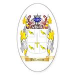 Ballantine Sticker (Oval 50 pk)