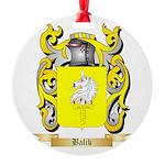 Balik Round Ornament
