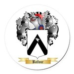 Balfour Round Car Magnet