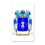 Balestrini Rectangle Car Magnet